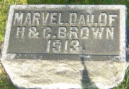 BROWN, MARVEL LENORA - Montgomery County, Ohio | MARVEL LENORA BROWN - Ohio Gravestone Photos
