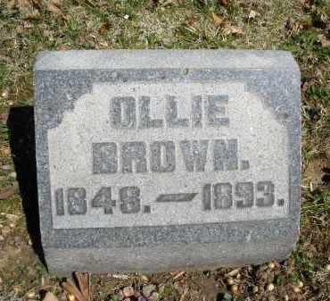 BROWN, OLLIE - Montgomery County, Ohio | OLLIE BROWN - Ohio Gravestone Photos