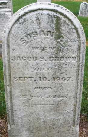 BROWN, SUSAN - Montgomery County, Ohio | SUSAN BROWN - Ohio Gravestone Photos