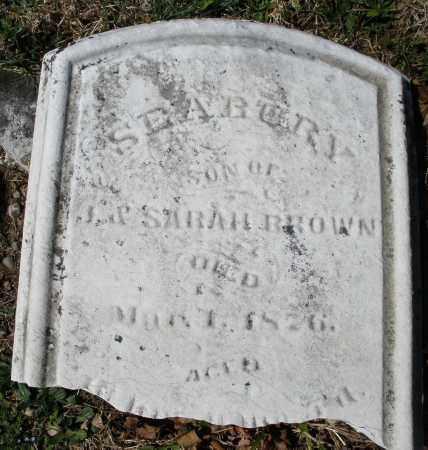BROWN, SEABURY - Montgomery County, Ohio | SEABURY BROWN - Ohio Gravestone Photos