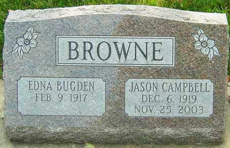 BROWNE, JASON CAMPBELL - Montgomery County, Ohio | JASON CAMPBELL BROWNE - Ohio Gravestone Photos