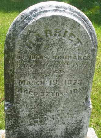 BRUBAKER, HARRIET - Montgomery County, Ohio   HARRIET BRUBAKER - Ohio Gravestone Photos