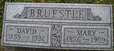 BRUESTLE, DAVID - Montgomery County, Ohio | DAVID BRUESTLE - Ohio Gravestone Photos