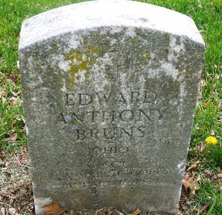 BRUNS, EDWARD  ANTHONY - Montgomery County, Ohio | EDWARD  ANTHONY BRUNS - Ohio Gravestone Photos