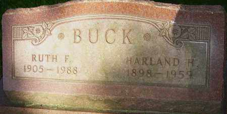 BUCK, RUTH F - Montgomery County, Ohio | RUTH F BUCK - Ohio Gravestone Photos