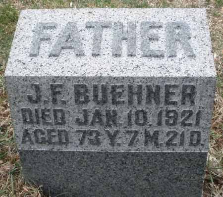 BUEHNER, J.F. - Montgomery County, Ohio | J.F. BUEHNER - Ohio Gravestone Photos