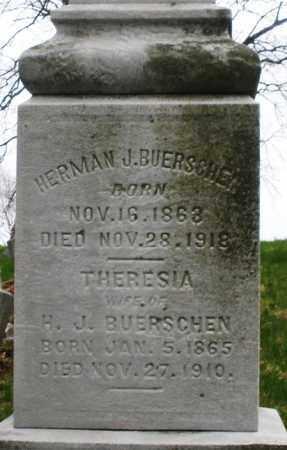 BUERSCHEN, HERMAN J. - Montgomery County, Ohio | HERMAN J. BUERSCHEN - Ohio Gravestone Photos