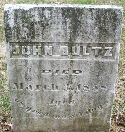 BULTZ, JOHN - Montgomery County, Ohio | JOHN BULTZ - Ohio Gravestone Photos