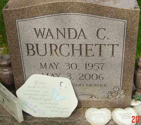 BURCHETT, WANDA C - Montgomery County, Ohio | WANDA C BURCHETT - Ohio Gravestone Photos