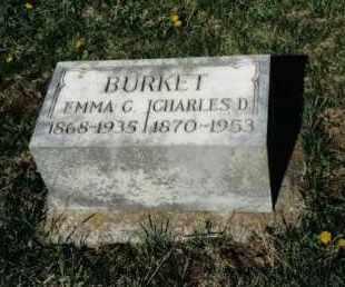 BURKET, EMMA C. - Montgomery County, Ohio   EMMA C. BURKET - Ohio Gravestone Photos
