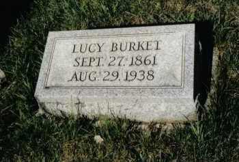 BURKET, LUCY - Montgomery County, Ohio   LUCY BURKET - Ohio Gravestone Photos