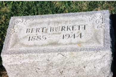BURKETT, BERT - Montgomery County, Ohio | BERT BURKETT - Ohio Gravestone Photos