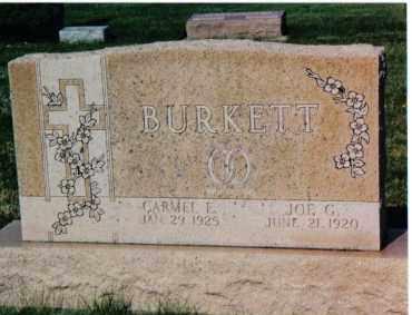 BURKETT, JOE G. - Montgomery County, Ohio   JOE G. BURKETT - Ohio Gravestone Photos