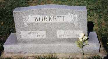 BURKETT, DEWEY - Montgomery County, Ohio | DEWEY BURKETT - Ohio Gravestone Photos