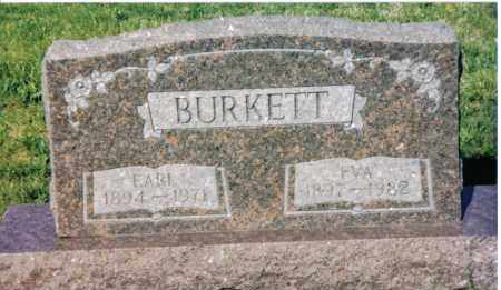 BURKETT, EARL - Montgomery County, Ohio | EARL BURKETT - Ohio Gravestone Photos