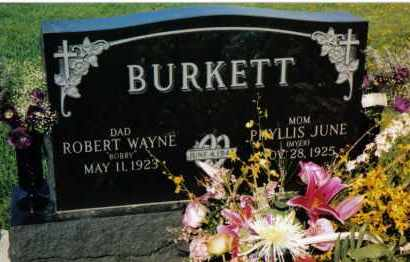 BURKETT, ROBERT WAYNE - Montgomery County, Ohio | ROBERT WAYNE BURKETT - Ohio Gravestone Photos