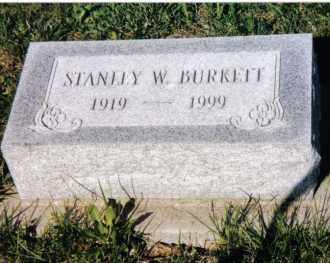 BURKETT, STANLEY W. - Montgomery County, Ohio | STANLEY W. BURKETT - Ohio Gravestone Photos
