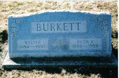 BURKETT, RUTH V. - Montgomery County, Ohio | RUTH V. BURKETT - Ohio Gravestone Photos
