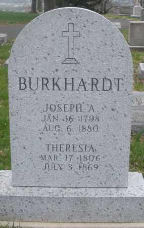 BURKHARDT, THERESIA - Montgomery County, Ohio | THERESIA BURKHARDT - Ohio Gravestone Photos