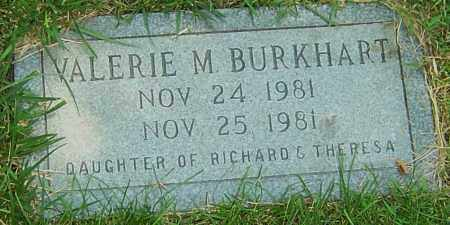 BURKHART, VALERIE M - Montgomery County, Ohio | VALERIE M BURKHART - Ohio Gravestone Photos