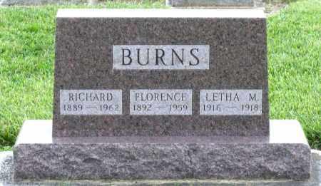 BURNS, RICHARD - Montgomery County, Ohio | RICHARD BURNS - Ohio Gravestone Photos