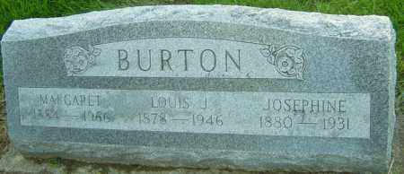 BURTON, MARGARET - Montgomery County, Ohio | MARGARET BURTON - Ohio Gravestone Photos