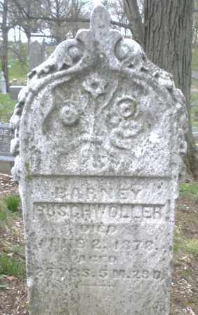 BUSCHWOLLER, BARNEY - Montgomery County, Ohio | BARNEY BUSCHWOLLER - Ohio Gravestone Photos