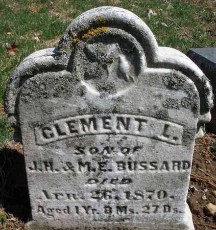BUSSARD, CLEMENT L. - Montgomery County, Ohio | CLEMENT L. BUSSARD - Ohio Gravestone Photos
