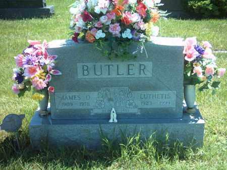 BUTLER, JAMES OKEY - Montgomery County, Ohio | JAMES OKEY BUTLER - Ohio Gravestone Photos