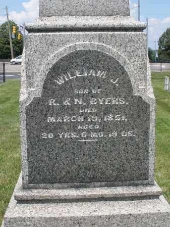 BYERS, WILLIAM J. - Montgomery County, Ohio | WILLIAM J. BYERS - Ohio Gravestone Photos