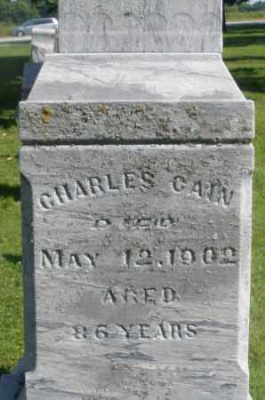 CAIN, CHARLES - Montgomery County, Ohio | CHARLES CAIN - Ohio Gravestone Photos