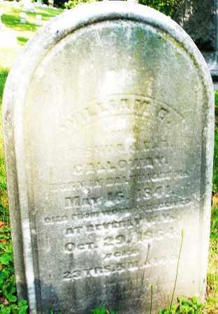 CALLOWAY, WILLIAM - Montgomery County, Ohio | WILLIAM CALLOWAY - Ohio Gravestone Photos