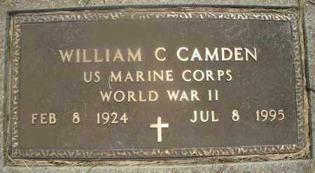 CAMDEN, WILLIAM C. - Montgomery County, Ohio | WILLIAM C. CAMDEN - Ohio Gravestone Photos