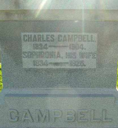 CAMPBELL, SOPHRONIA - Montgomery County, Ohio | SOPHRONIA CAMPBELL - Ohio Gravestone Photos