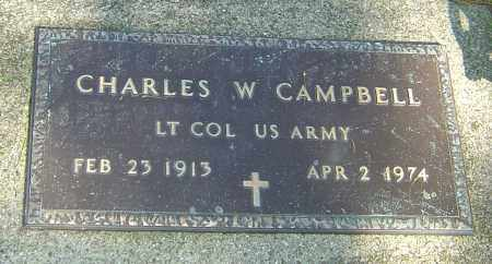 CAMPBELL, CHARLES WELLER - Montgomery County, Ohio   CHARLES WELLER CAMPBELL - Ohio Gravestone Photos