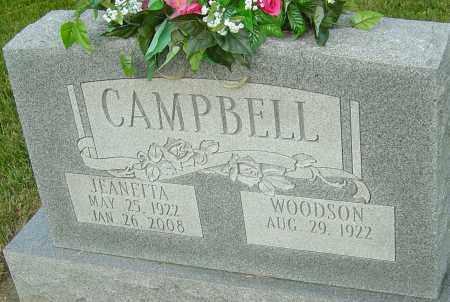 CAMPBELL, JEANETTA - Montgomery County, Ohio | JEANETTA CAMPBELL - Ohio Gravestone Photos