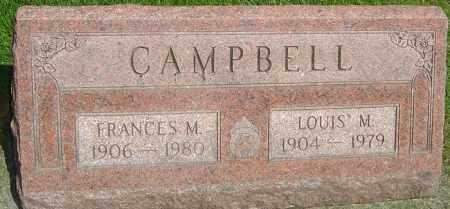 CAMPBELL, LOUIS M - Montgomery County, Ohio | LOUIS M CAMPBELL - Ohio Gravestone Photos