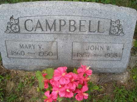 CAMPBELL, JOHN W. - Montgomery County, Ohio | JOHN W. CAMPBELL - Ohio Gravestone Photos