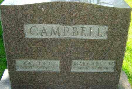 WELLER CAMPBELL, MARGARET - Montgomery County, Ohio | MARGARET WELLER CAMPBELL - Ohio Gravestone Photos