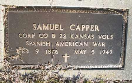 CAPPER, SAMUEL - Montgomery County, Ohio | SAMUEL CAPPER - Ohio Gravestone Photos