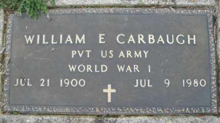 CARBAUGH, WILLIAM E. - Montgomery County, Ohio | WILLIAM E. CARBAUGH - Ohio Gravestone Photos
