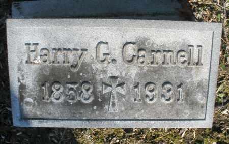 CARNELL, HARRY G. - Montgomery County, Ohio | HARRY G. CARNELL - Ohio Gravestone Photos