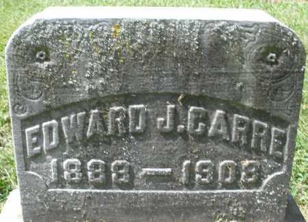 CARRE, EDWARD J. - Montgomery County, Ohio   EDWARD J. CARRE - Ohio Gravestone Photos