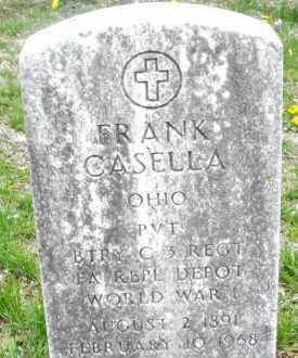 CASELLA, FRANK - Montgomery County, Ohio | FRANK CASELLA - Ohio Gravestone Photos