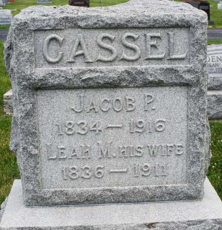CASSEL, LEAH M. - Montgomery County, Ohio | LEAH M. CASSEL - Ohio Gravestone Photos