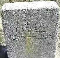 CASSELL, S.L. - Montgomery County, Ohio | S.L. CASSELL - Ohio Gravestone Photos