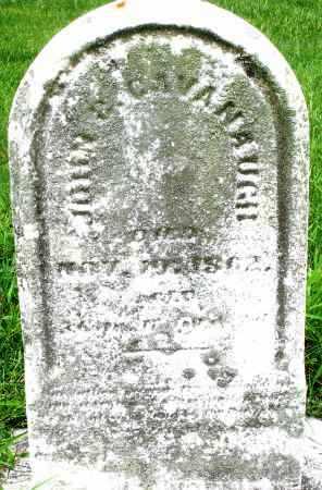 CAVANAUGH, JOHN G. - Montgomery County, Ohio | JOHN G. CAVANAUGH - Ohio Gravestone Photos