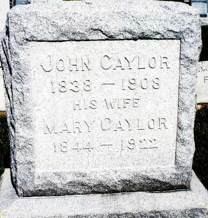 CAYLOR, MARY - Montgomery County, Ohio | MARY CAYLOR - Ohio Gravestone Photos