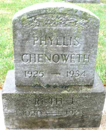 CHENOWETH, RUTH J. - Montgomery County, Ohio   RUTH J. CHENOWETH - Ohio Gravestone Photos