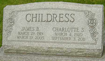 CHILDRESS, JAMES B - Montgomery County, Ohio | JAMES B CHILDRESS - Ohio Gravestone Photos
